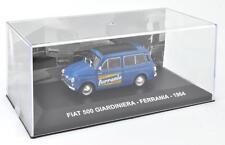 """DIE CAST """" FIAT 500 GIARDINIERA - FERRANIA - 1964 """" VEICOLI PUBBLICITARI 1/43"""