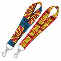 2x WinCraft Destination Arizona State Italy Lanyard Key Strap Free Shipping