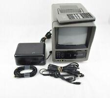 """MPO VideoTronics VHS-794 Portable Mobile 7"""" Color TV/VCR Cassette Player"""