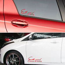 Sports mind produced by TOYOTA Decal Sticker Graphics CAMRY  SPORT TDR COROLLA