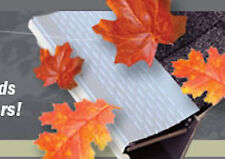 200ft, Gutter Guard , Gutter Cover, Leaf Shelter,  5 inches - Comes in 12 colors