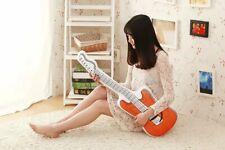 Guitar Shape Cushion Pillow Stuffed Funny Plush Throw Sofa Pillow Gift 2020