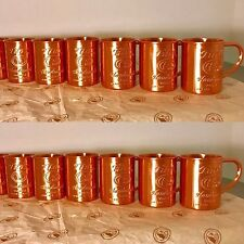 12 Tito's Vodka Copper Moscow Mule Mug Set Bulk Lot New 12x Dozen