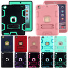 For Apple iPad(9th/8th/7th/6th Gen)Stand Case Cover Shockproof Heavy Duty Rubber