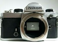Nikon FM 35mm SLR Film Camera Body Silver UK Fast Post