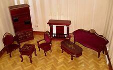 Dolls house lounge furniture set