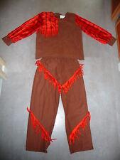 déguisement costume garçon cowboys marron rouge garçon taille 7 / 8 / 9 ans jeu