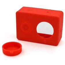 Funda de Silicona para cámara Xiaomi Yi Action cam carcasa protector sports case