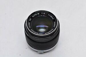 [EXC Olympus OM System Zuiko MC Auto W 28mm F2 MF Lens From JAPAN #1743
