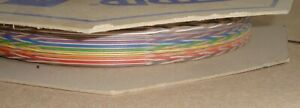 100ft REEL, 26 WAY SPECTRA STRIP Twist RIBBON CABLE 132-2802-226 127TNF2807-26