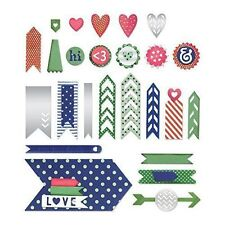 Sizzix dies - Arrow base with layering shapes, 21 dies - for use in most systems