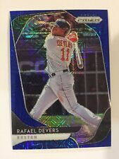 2020 PANINI PRIZM #173 RAFAEL DEVERS BLUE MOJO PRIZM /175 BOSTON RED SOX