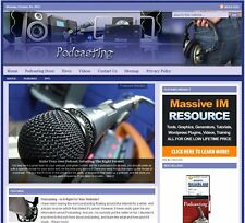 *PODCASTING* TURNKEY WEBSITE FOR SALE - (TURNKEYPAGES)