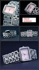 Elegant Women's Watch Osco Steel from Complete Stainless Steel Designer Form NEW