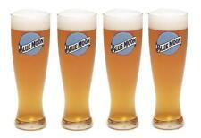 BLUE MOON 4 PILSNER STYLE 22oz BEER GLASSES NEW