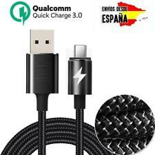 Cable USB tipo C de carga rápida 3.0 para móvil y tablet Huawei, Xiaomi
