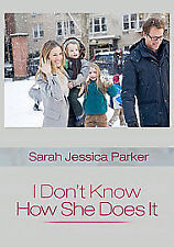 I Don't Know How She Does It (Blu-ray, 2012)