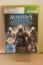 Assasins Creed Heritage Colección Xbox 360 Classics B1568