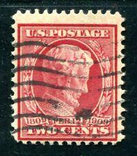 USA 1909 175Ay gestempelt ATTEST 300€+(Z3308