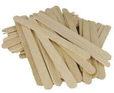 Wooden Spatula / Paddle Pop Sticks - Small - 100pcs - Australian Seller