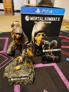 Mortal kombat x scorpion statue