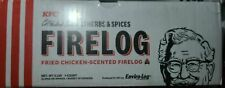 KFC Fire Log 11 Herbs & Spices Kentucky Fried Chicken Aroma Firelog