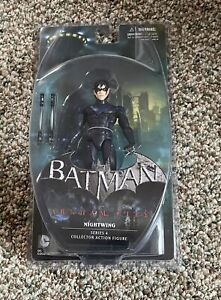 DC DIRECT 2013 BATMAN ARKHAM CITY: SERIES 4 NIGHTWING ACTION FIGURE NEW **OPENED