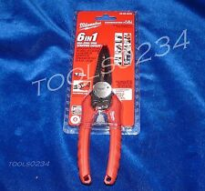 Milwaukee 48-22-3079 Combination Pliers 6 in1 Wire Stripper Bolt Cutter 8-20 GA