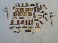 vintage lot of miscellaneous unknown window hardware J8-8