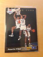 1992 - 1993 Upper Deck Shaquille O'Neal Orlando Magic #1B Basketball Card, HOF.