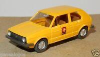 MICRO WIKING HO 1/87 VW VOLKSWAGEN GOLF POSTE SUISSE b