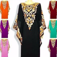 CAFTAN /Kaftan rich occasion gowns with lovely embroidery and stones where appap