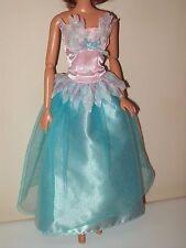 Barbie Doll Clothes Dress Disney's Swan Lake Princess Odette Evening Gown D23