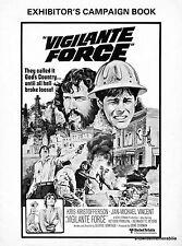 VIGILANTE FORCE 1976 CINEMA EXHIBITORS CAMPAIGN BOOK action Kris Kristofferson