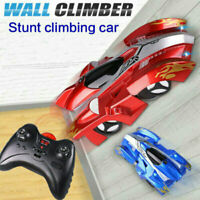 Wall Climbing Remote Control Car Radio Controlled Stunt RC Racing Kids Toy Gift