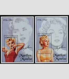 Gambia, 1995, Marilyn Monroe, Limited Edition, 2 Souvenir Sheets, MNH
