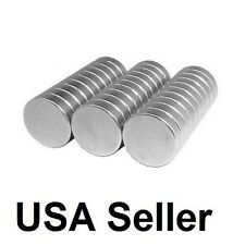 Lot 100 50 12 X 18 Neodymium Disc Strong Rare Earth N48 Small Fridge Magnets