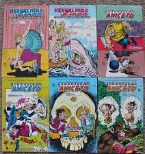 LOT OF 6 HERMELINDA LINDA Y ANDANZAS DE ANICETO, MEXICAN COMIC