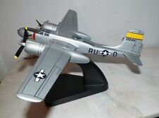 TMC PACIFIC AIRCRAFT WOODEN  WW2MILITARY DESK TOP MODEL AIRPLANE LIGHT GRAY A-26