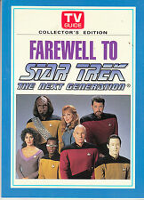 TV GUIDE FAREWELL TO STAR TREK THE NEXT GENERATION collector's edition 1994