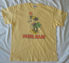New listing Women's Junk Food Minnie Mouse T-Shirt Yellow Size M Md Medium