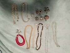 Vintage Joseph Esposito (ESPO SIG) Lot: 16 Sterling Silver Lot - Necklaces, snap