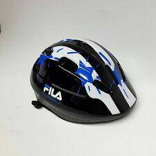 Fila inline Equipo de protección casco skate casco blanco/azul talla m