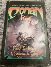CONAN PIRAT Robert E Howard Sprague de Camp | 1st Polish book | 1991 Hardback