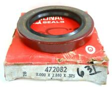 """NATIONAL OIL SEAL, 472082, 2.000 X 2.880 X 0.375"""", NITRILE RUBBER"""