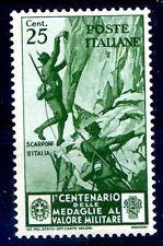 REGNO 1934 - MEDAGLIE  Cent. 25   NUOVO **