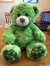 New ListingBuild A Bear St. Patrick's Day Irish Shamrock Green Super Soft Excellent Cond.