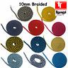 10mm Braided Cotton Rope 100% Natural Soft Multi-coloured 8 Strand Craft Decor
