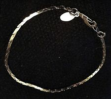 "Bracelet Or Anklet ""Gs"" American Showcase Gold Tone"