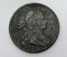 1802 DRAPED BUST LARGE CENT EXTREMELY FINE S-240 BETTER DATE!